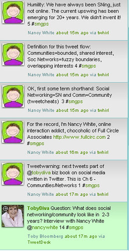 First Set of Tweets