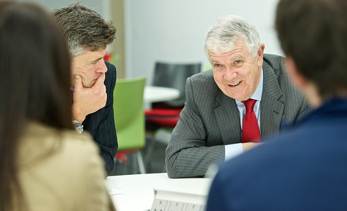 Adaptability is key for business manager by University of Salford, on Flickr