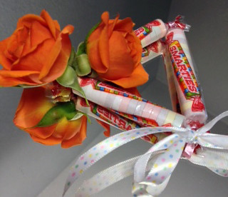 Candy Floral Bracelet — Shirley's Flowers & Gifts, Inc., in Rogers, Ark.