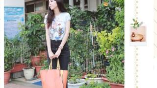 [穿搭] LAMALAMA。簡約時尚的韓包搭配