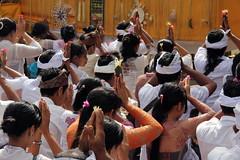 "Praying at Pura Penataran Agung, Lempuyang Luhur temple, on Odalan day • <a style=""font-size:0.8em;"" href=""http://www.flickr.com/photos/55894487@N00/9325118282/"" target=""_blank"">View on Flickr</a>"