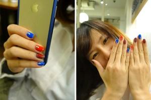 光療指甲|Happy Hair – Eva ♥.再一次勇敢嘗試;推薦蘆洲細心美甲師!(追蹤ING、02/27更新)