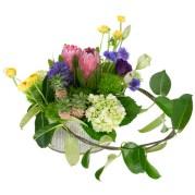 Valentine's Day Garden — Leanne and David Kesler, Floral Design Institute, Inc., in Portland, Ore.