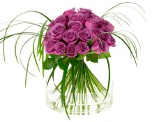 Valentine's Day Bouquet — Leanne and David Kesler, Floral Design Institute, Inc., in Portland, Ore.