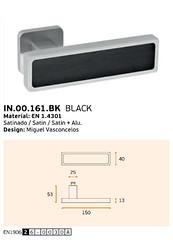 IN.00.161.BK BLACK