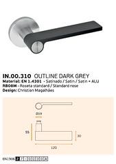 IN.00.310 OUTLINE DARK GREY