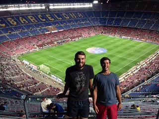 FC Barcelona v Valladolid! With Simon!