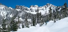 The ridge. Kendall Peak Lakes