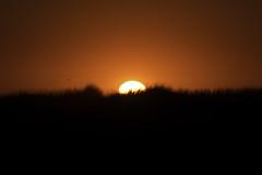 Couché de soleil à la Pointe de la Torche
