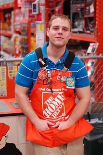 Home Depot cashier