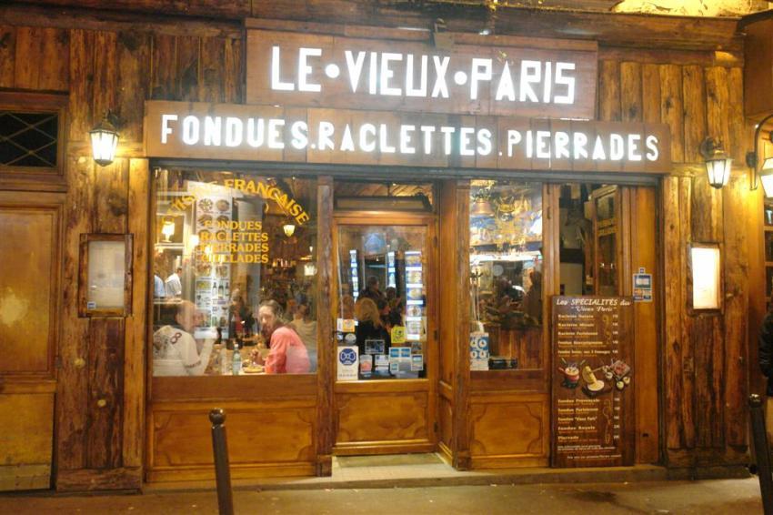 Un paseo por el parisino latin quarter for Menu frances tipico
