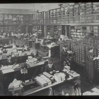 Bibliotecários do passado