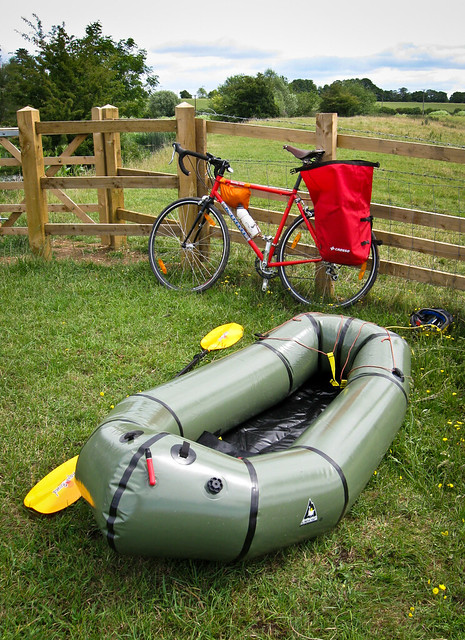 Bikerafting experiment: Ready to go