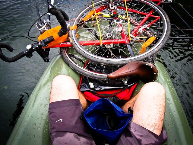 Bikerafting experiment: Luggage setup