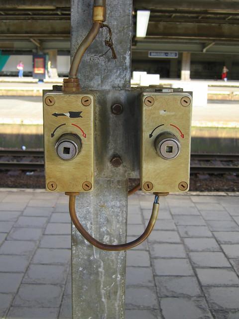 Train faces - cheerful