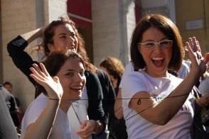 Leila Boldrini, Luigina Foggetti, Domitilla Ferrari a #conversazionidalbasso, Urbino 2008