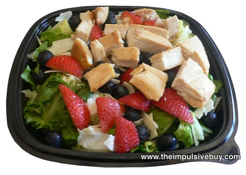 Wendy's Berry Almond Chicken Salad