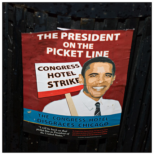 The President on the Picket Line