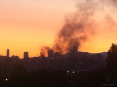 Reader T.G. | I am crying. My city is on fire. | Vancouver, BC | 9:30pm