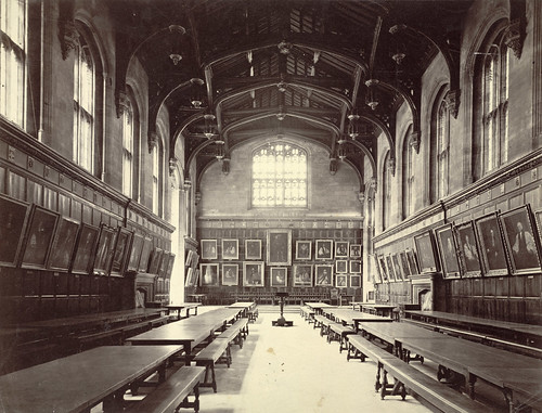 Oxford. Christ Church College, Dining Hall
