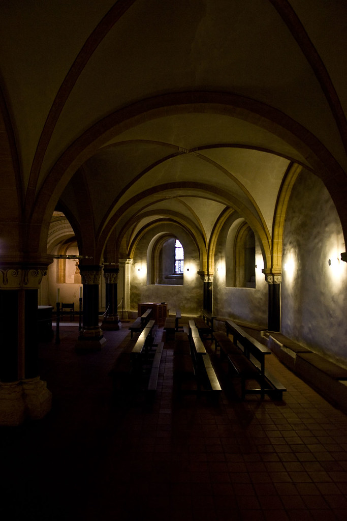 In The Depths of Trier Dom, Germany