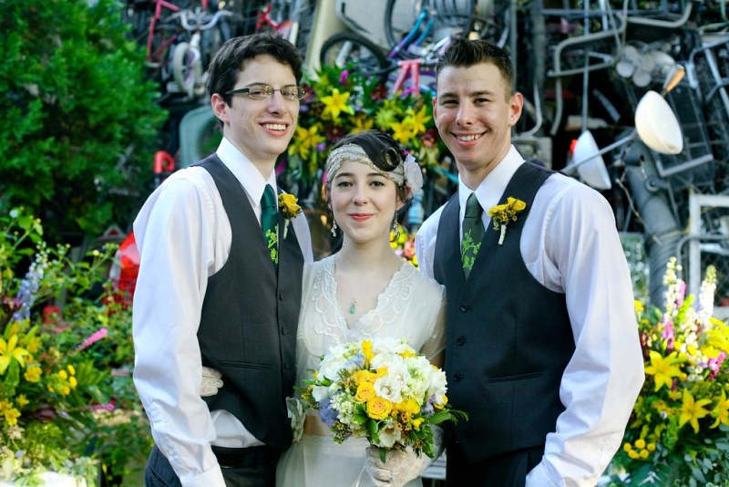 Kaci and her triplet brothers Brett and Brad Beeler, The Men of Honor