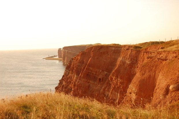 Cliffs at Sunset
