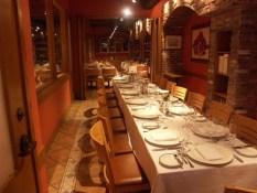 The Enoteca Wine Room seats 22