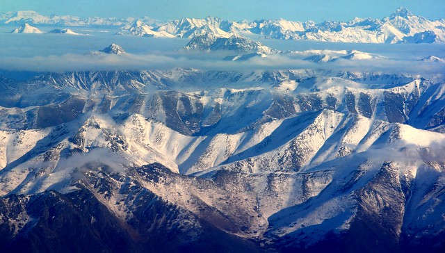 Western Chugach mountains - a few minutes from Anchorage