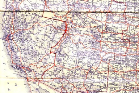 1934 highway map   flickr photo sharing!