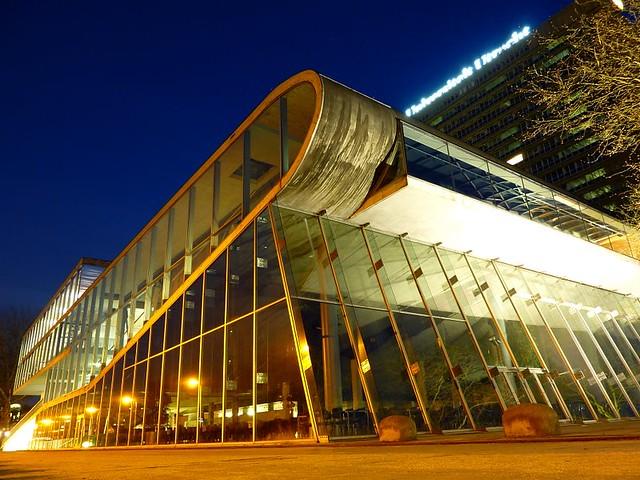 Educatorium (University of Utrecht) in Utrecht by Rem Koolhaas