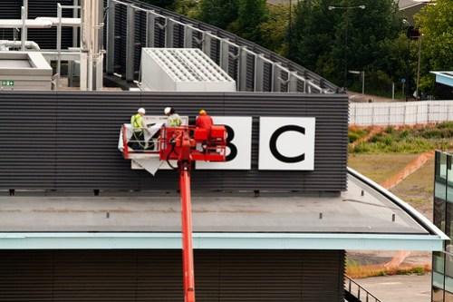 BBC Sign - MediaCityUK