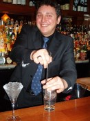 Bartender David Wolowidnyk