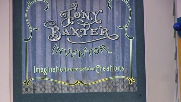 Tony Baxter Main Street USA window ceremony at Disneyland