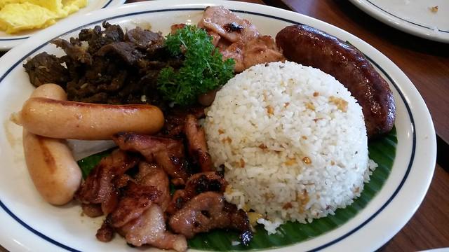 IHOP Filipino breakfast