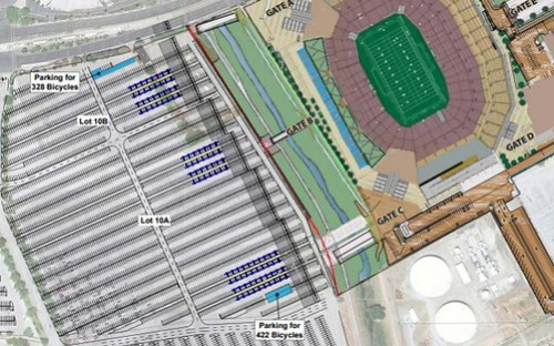 Levi's Stadium bike parking