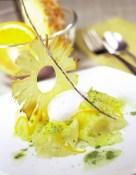 Pineapple Carpaccio