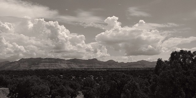 Mountains & Clouds, US-6, Utah, 2013