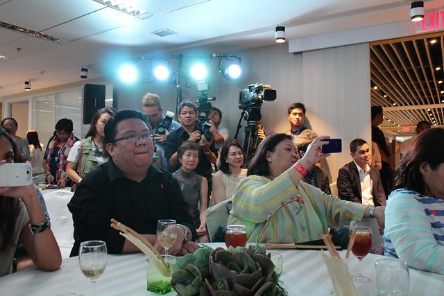 Lee MIn Ho media event