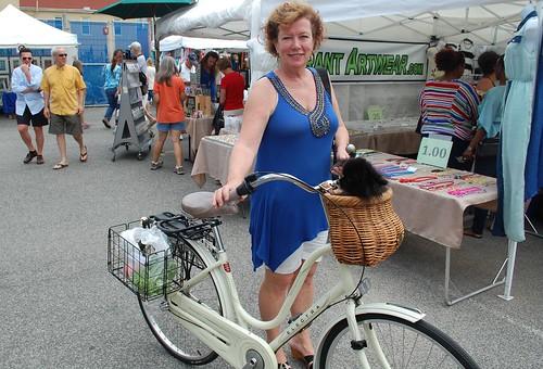 Lisa (with Chloe), Eastern Market, Washington DC