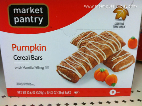 Market Pantry Pumpkin Cereal Bars