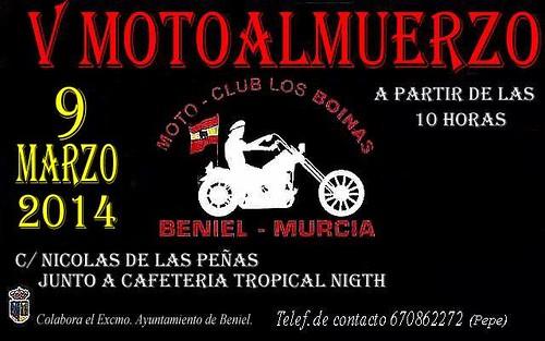 V Motoalmuerzo Los Boinas-Beniel