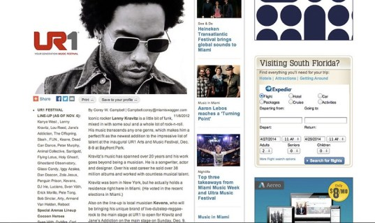 Rocker Lenny Kravitz joins UR1 Festival lineup in Miami during Art Basel weekend | miami.com