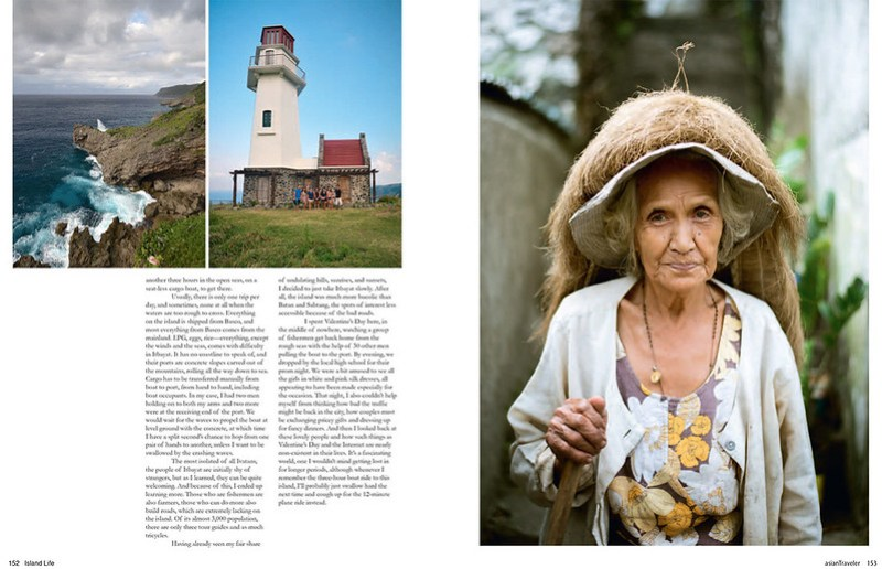 Media: Batanes, AsianTraveler Magazine Philippines Special Issue, Island Life 2014