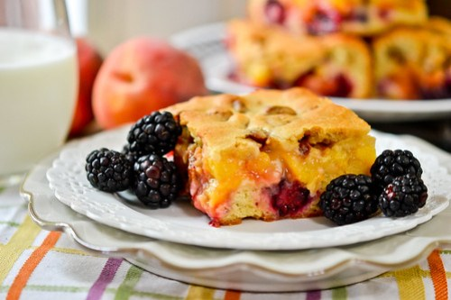 Blackberry-Peach Cobbler Bars-11