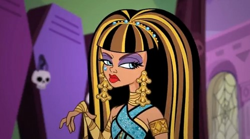 Cleo de Nile: La Hija de la Momia en Monster High