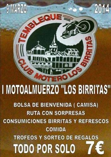 I Motoalmuerzo Los Birrittas - Tembleque (Toledo)