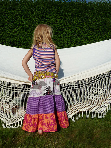 Gypsy skirt for Frida