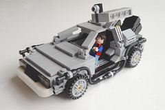 The original Cuusoo DeLorean
