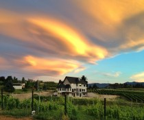 Okanagan summer sky